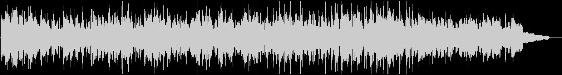 ソプラノサックスのメロディアスなボサノバの未再生の波形