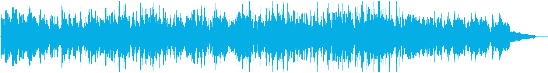 ソプラノサックスのメロディアスなボサノバの再生済みの波形