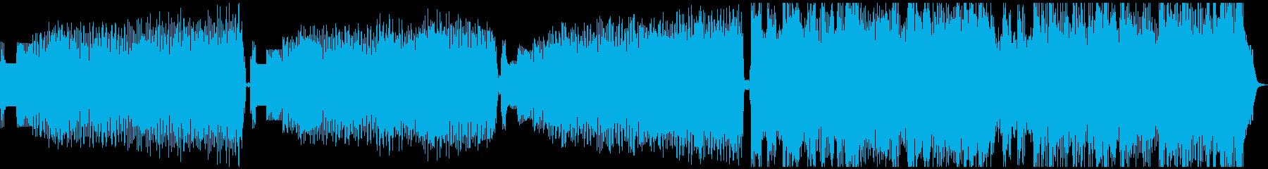 冷ややかな電子/ロック後の瞑想。メ...の再生済みの波形