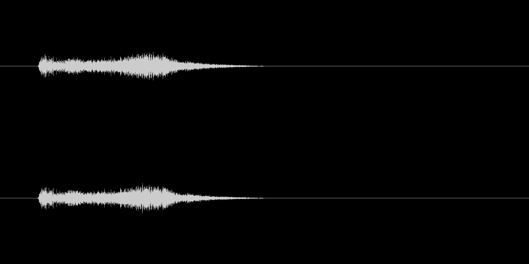 【サイバー10-2】の未再生の波形