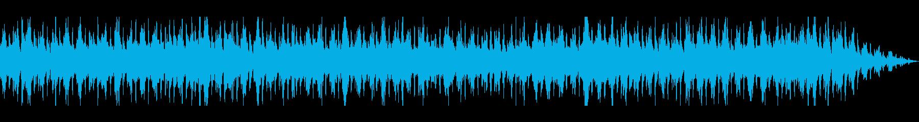 手回しオルガンの優しい曲調の再生済みの波形