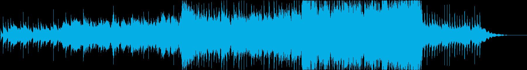 ミスティック、シネマティック、アンビエンの再生済みの波形