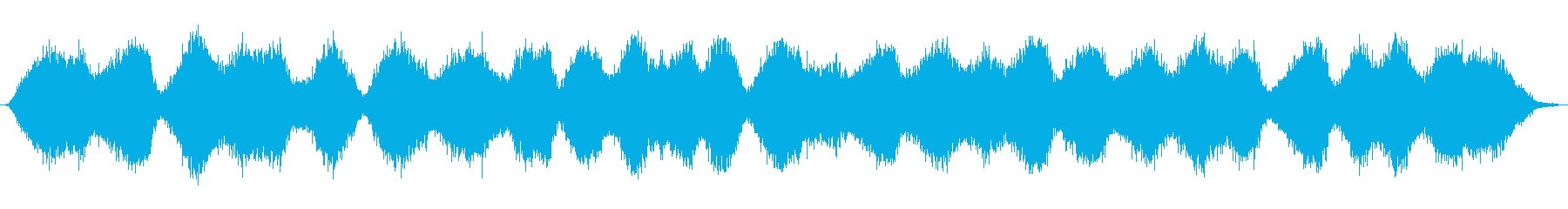 シアターレインサウンドマシン:さま...の再生済みの波形