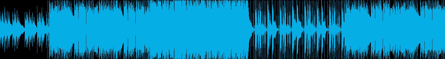 会社PV向き、ループ可能・わくわく躍動感の再生済みの波形