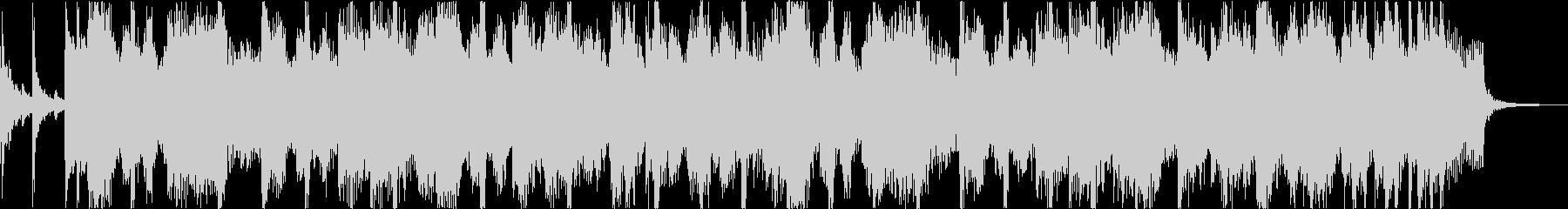 軽快おしゃれレトロディスコシティポップbの未再生の波形