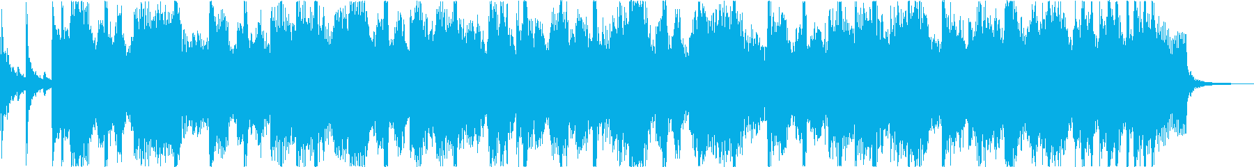 軽快おしゃれレトロディスコシティポップbの再生済みの波形