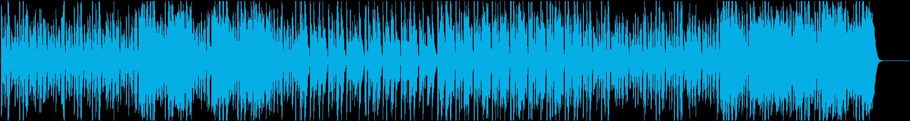 動物達の戯れ、コミカル/静かめの再生済みの波形