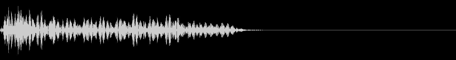 マイナスイメージ_ヴィーンの未再生の波形