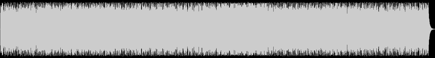 重厚なトライアングルとシンセサイザーの曲の未再生の波形