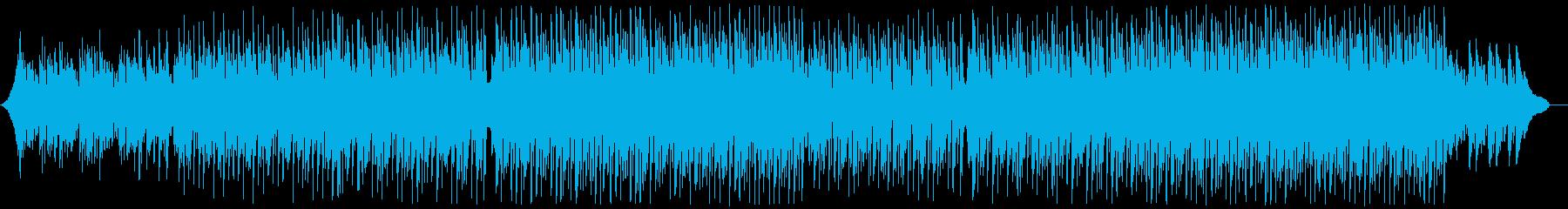 現代的な和風三味線ポップ:和楽器無しの再生済みの波形
