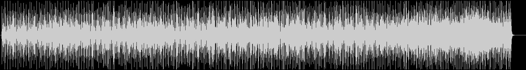 スウィングするポップなジャズブルースの未再生の波形