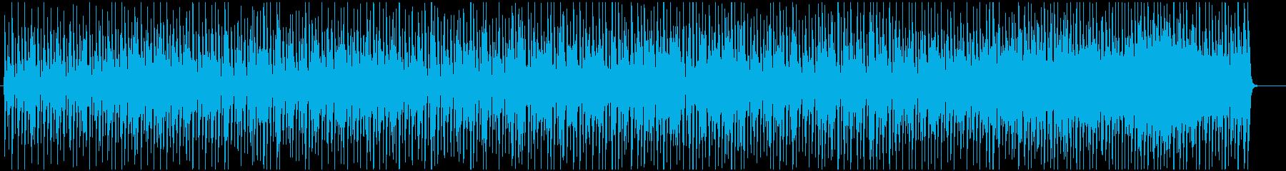 スウィングするポップなジャズブルースの再生済みの波形