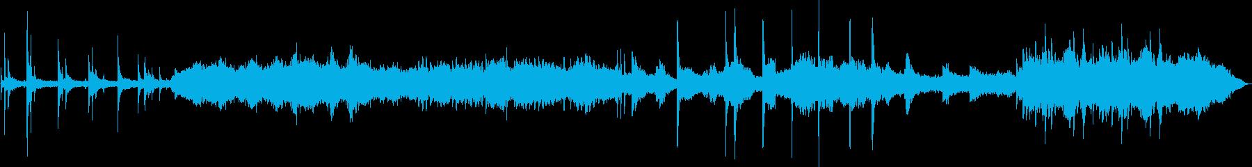 入札と移動のオーケストレーション。...の再生済みの波形