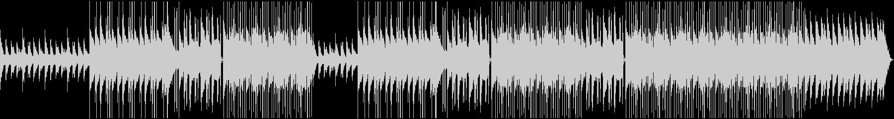 チルアウト 切ないローファイチルホップの未再生の波形