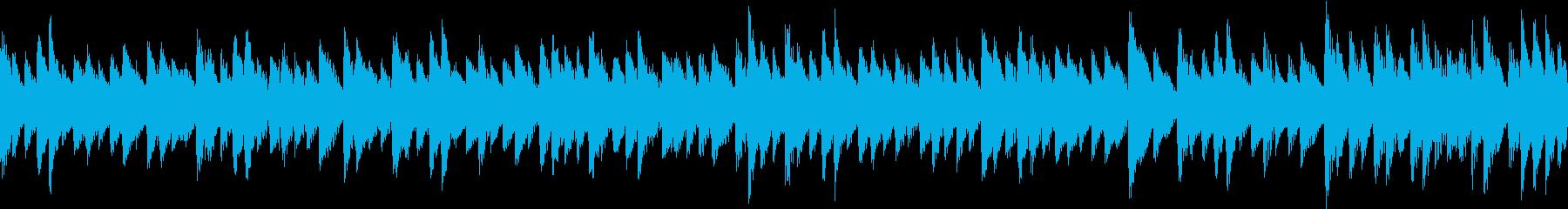 ステージクリア後などの明るい曲 8bitの再生済みの波形