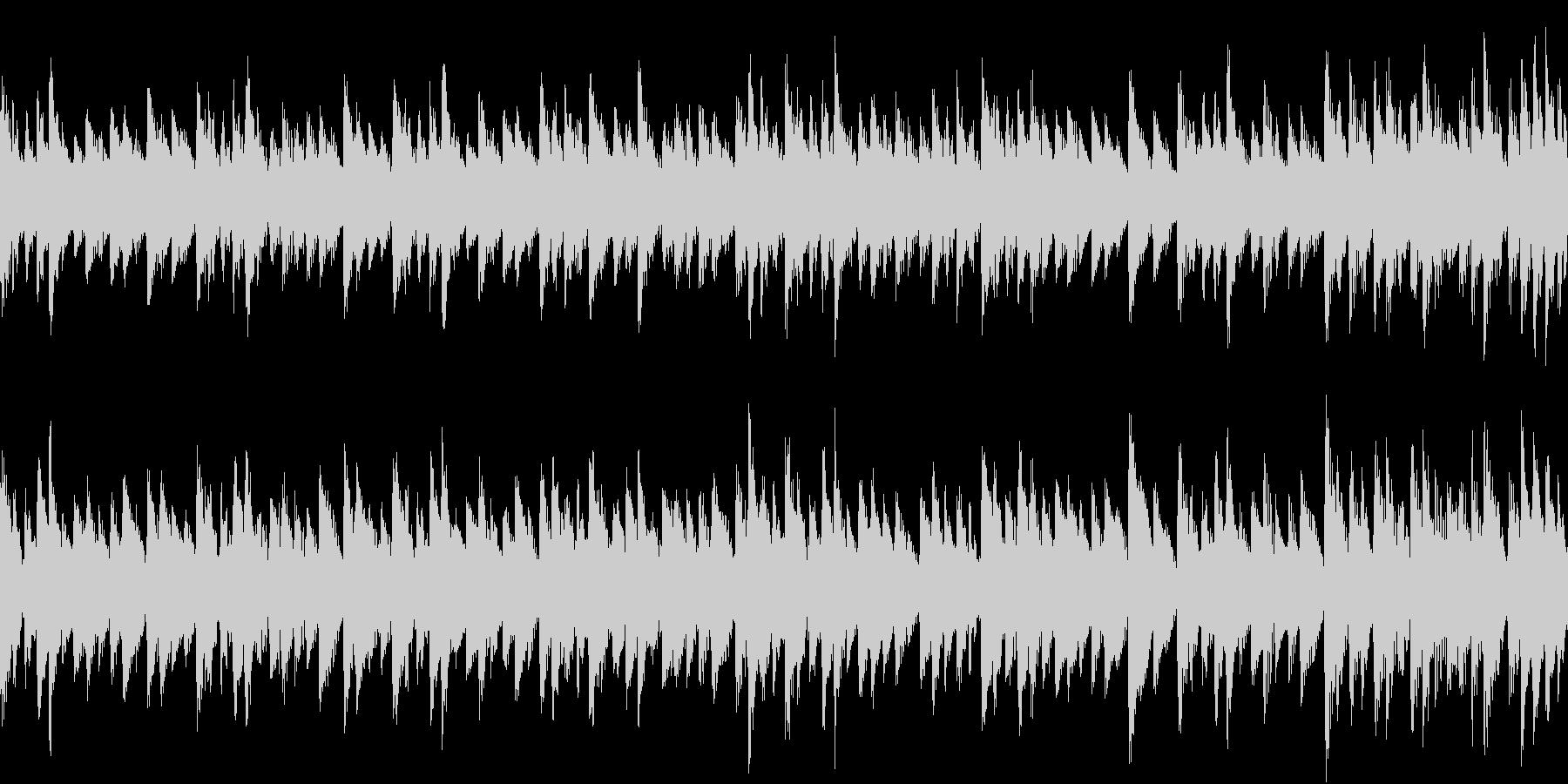 ステージクリア後などの明るい曲 8bitの未再生の波形
