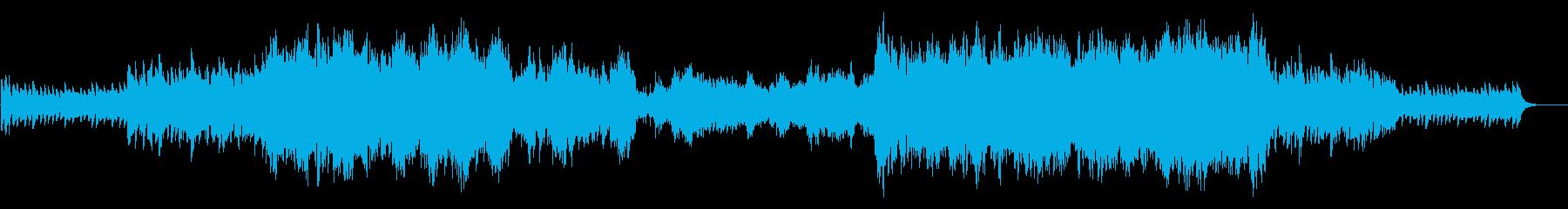 緊張シーン(ループあり)の再生済みの波形