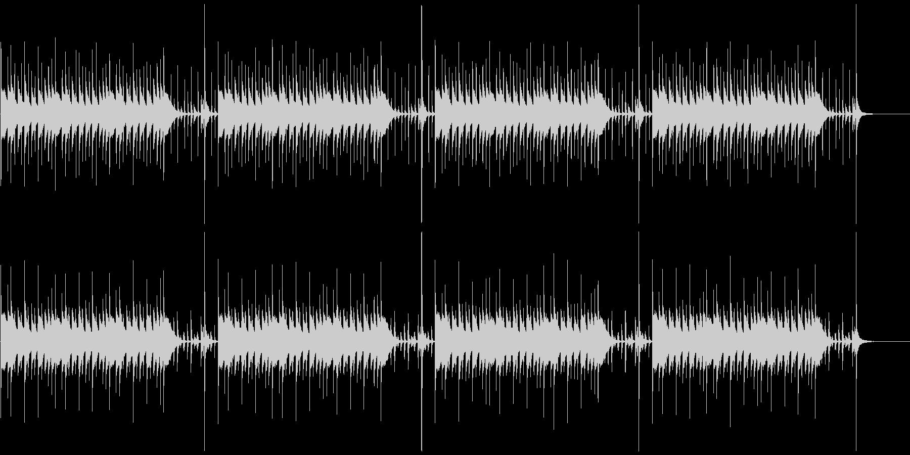マリンバの軽快で楽しいBGMループ 2の未再生の波形
