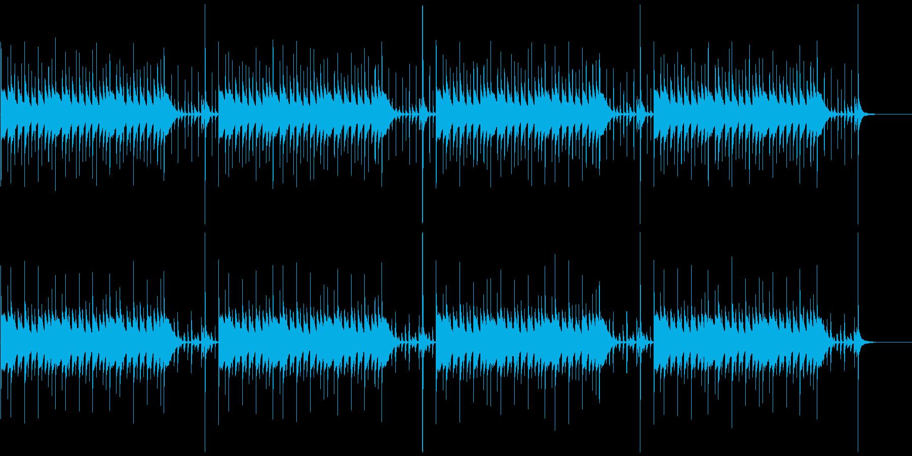 マリンバの軽快で楽しいBGMループ 2の再生済みの波形