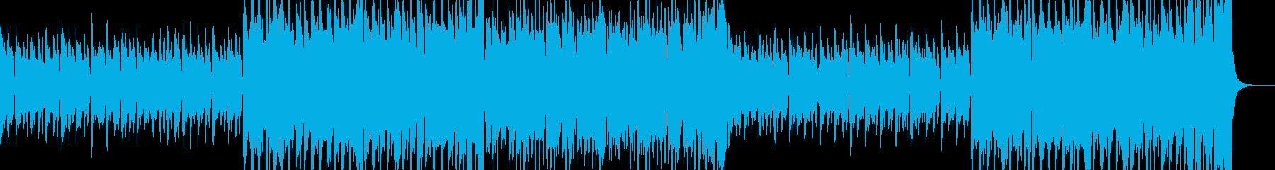 怪しく楽しいハロウィン風BGMの再生済みの波形