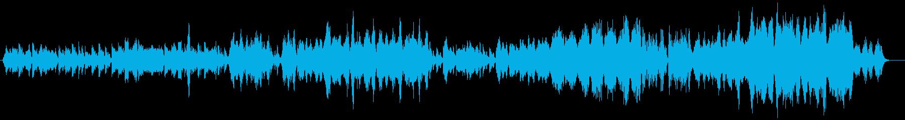 弦楽五重奏編成による安らぎに包まれた曲の再生済みの波形