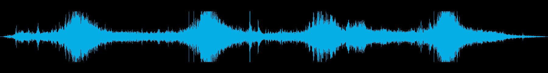 ジェットスキーパスbの再生済みの波形