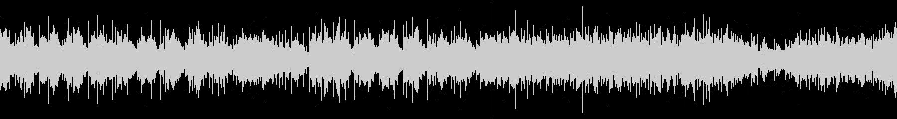 ダンジョン内部風 ホラーなピアノBGMの未再生の波形