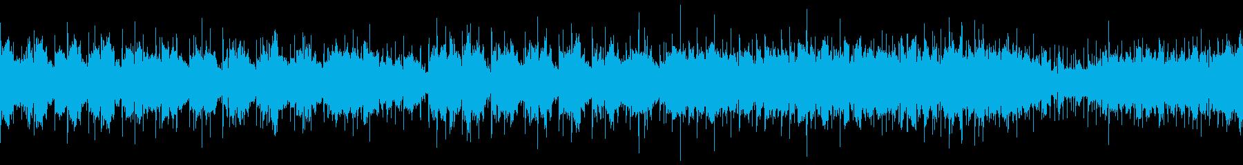 ダンジョン内部風 ホラーなピアノBGMの再生済みの波形