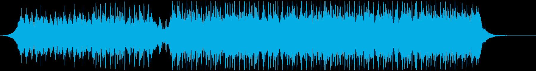 情報(60秒)の再生済みの波形