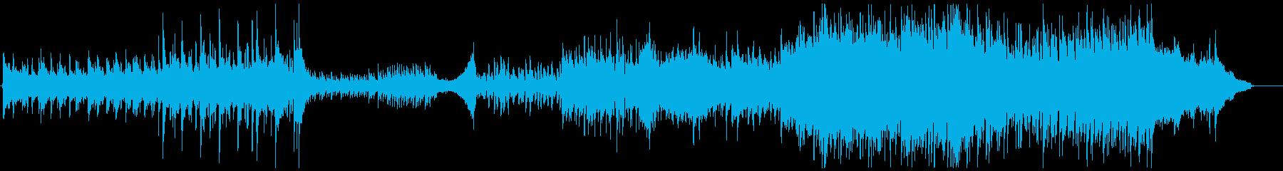 激しめの哀愁漂うトレイラー(琴メロ)の再生済みの波形