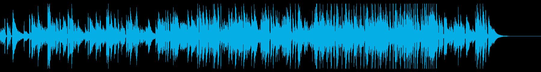 アコースティックギターが響くバラードの再生済みの波形