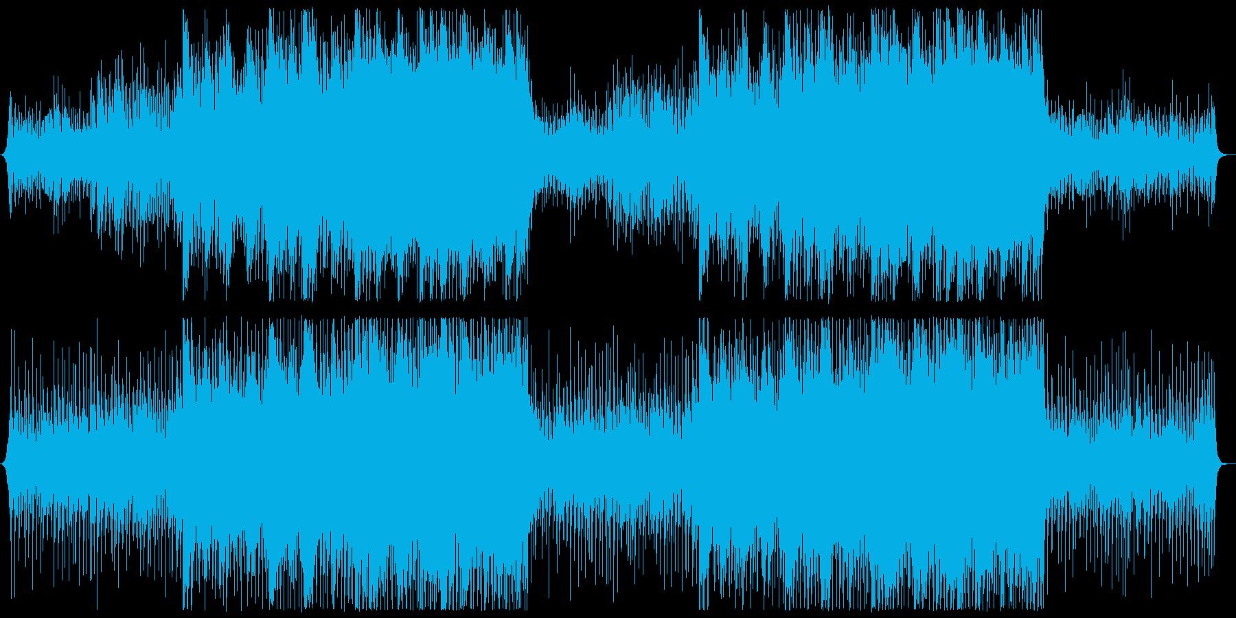 【ドラム・メロディ抜き】透明感のある企業の再生済みの波形