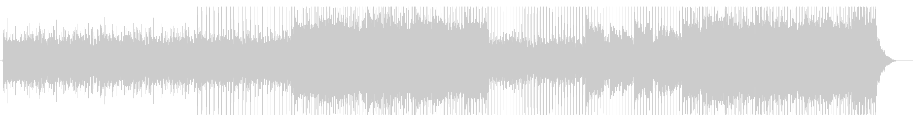 企業向け 明るいメロが特徴なピアノポップの未再生の波形
