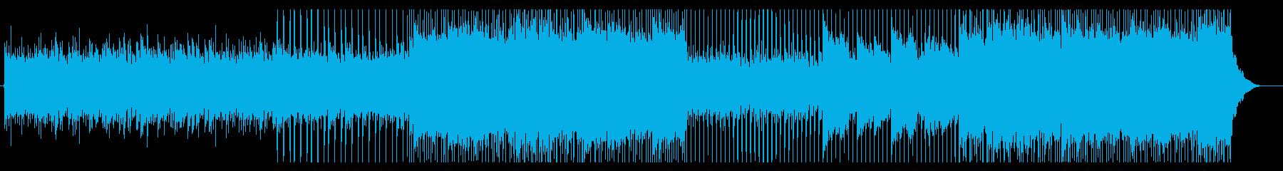企業向け 明るいメロが特徴なピアノポップの再生済みの波形