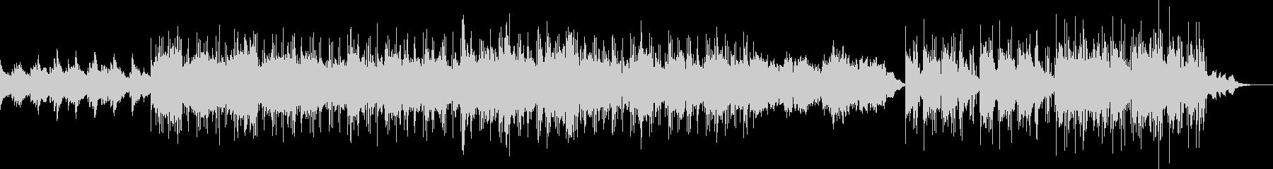 メランコリックなBGMの未再生の波形