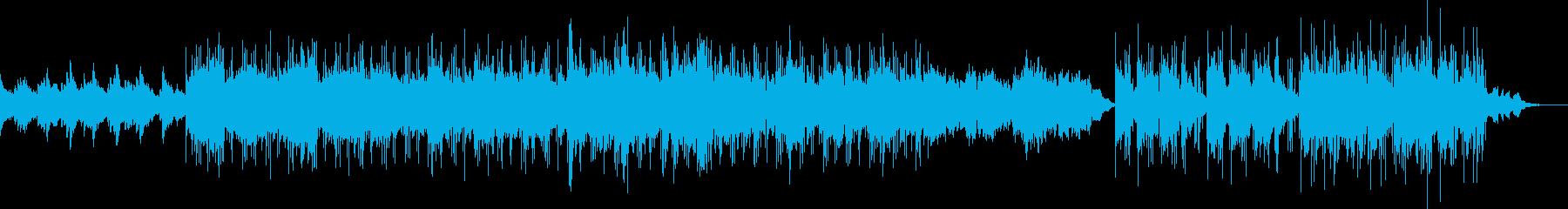 メランコリックなBGMの再生済みの波形