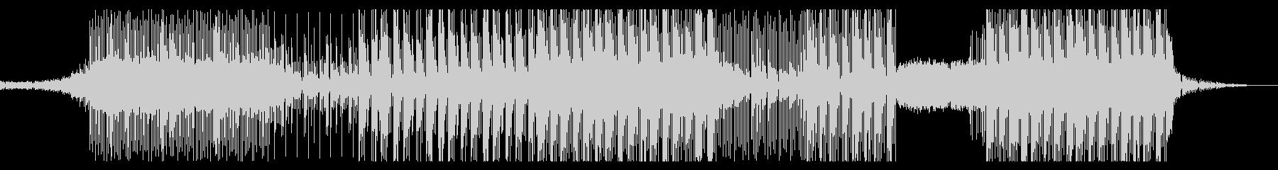 和風ダークヒップホップ(三味線)の未再生の波形