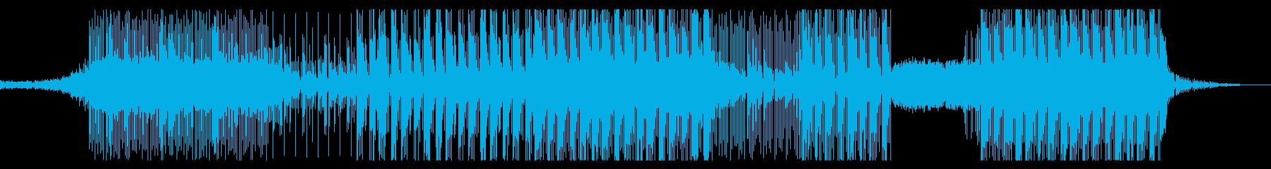 和風ダークヒップホップ(三味線)の再生済みの波形