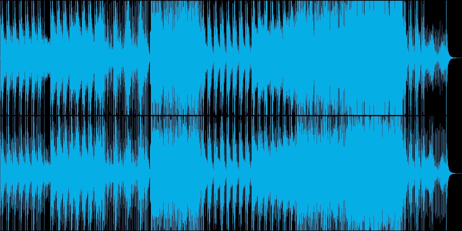 和風のドラマ・動画を想定した曲ですの再生済みの波形