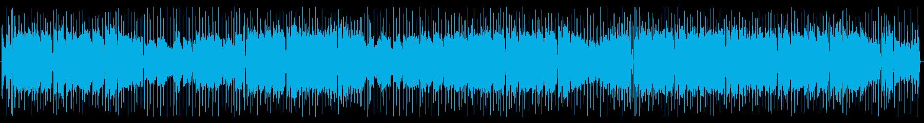 バイオリン 雄大なポップBGMの再生済みの波形