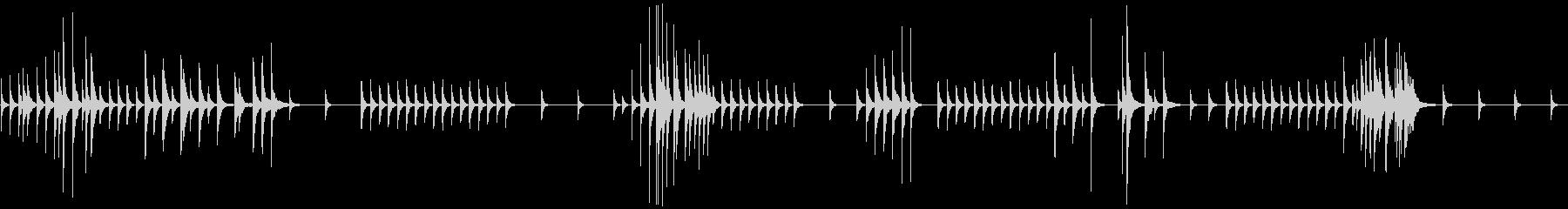 涅槃の実体の未再生の波形