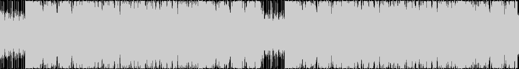 北欧・ケルト風のワクワクするBGMの未再生の波形