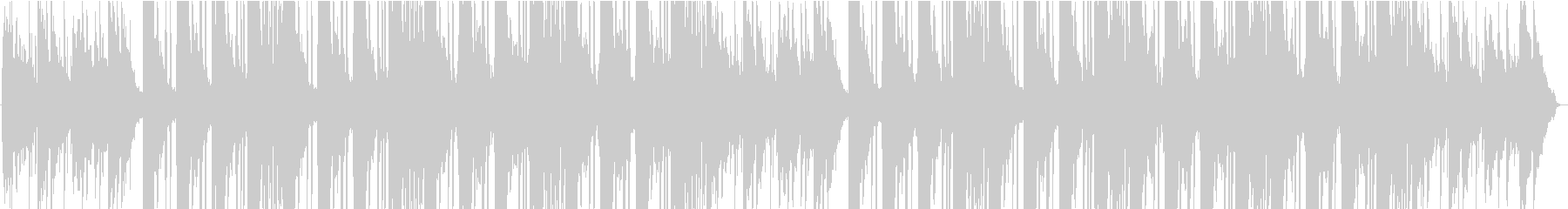 【Lo-Fi】ピアノのローファイサウンドの未再生の波形