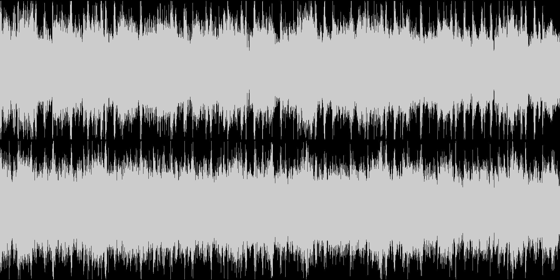 ドキュメンタリーやさしい曲1 ドラムありの未再生の波形