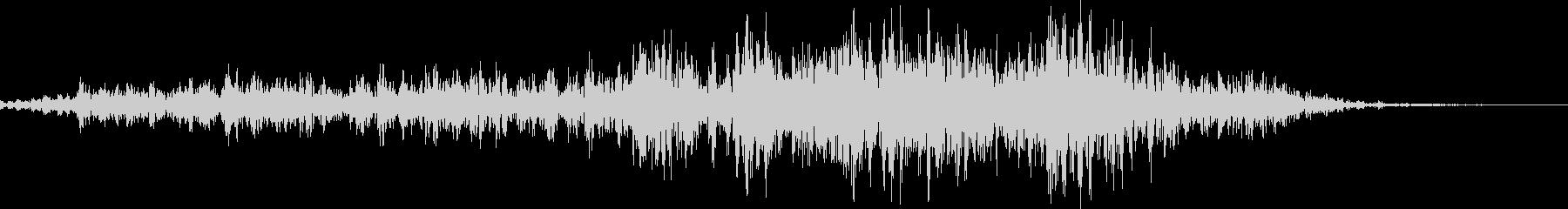 馬の鳴き声(ブヒヒン)の未再生の波形
