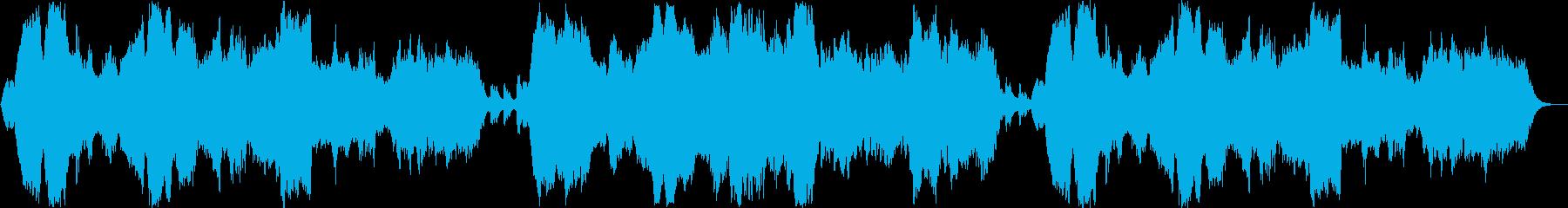 切ないバイオリン管楽器などのサウンドの再生済みの波形