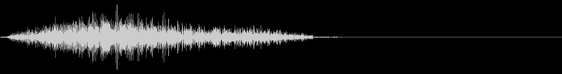 エイリアン:発声 8の未再生の波形