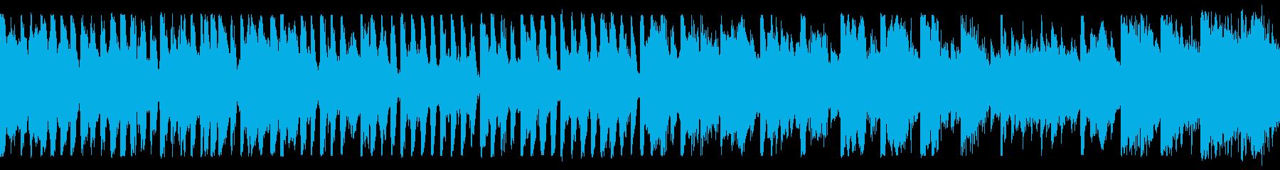 Cartoon シンセサイザー コ...の再生済みの波形
