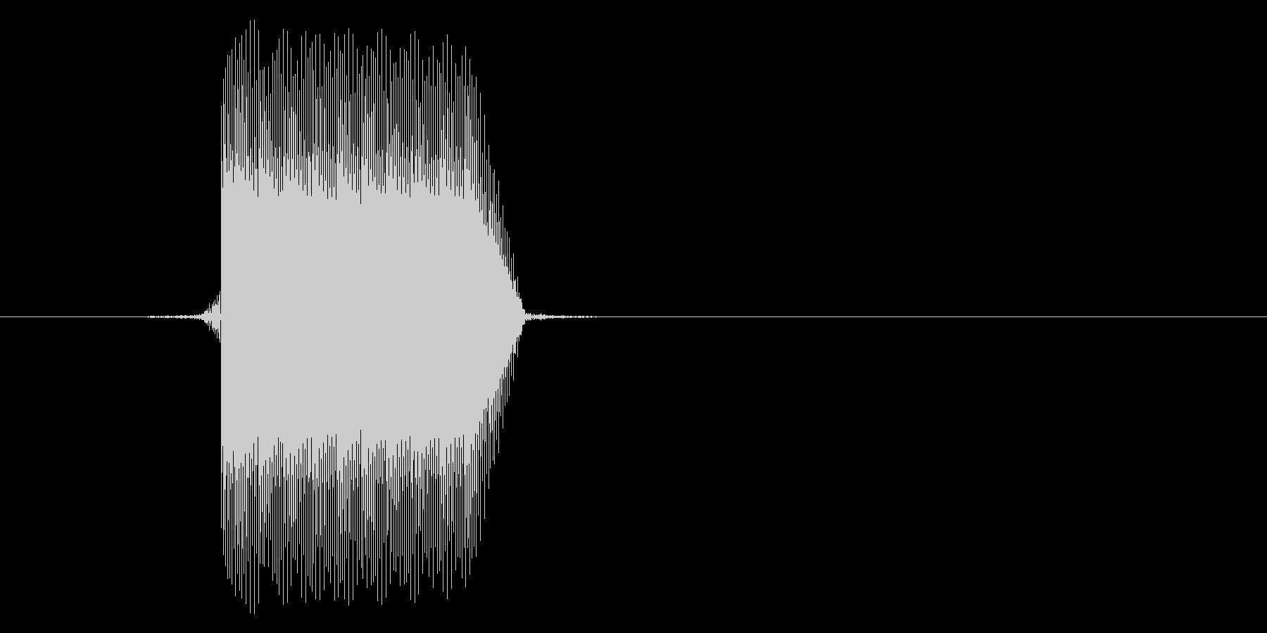 ゲーム(ファミコン風)セレクト音_024の未再生の波形