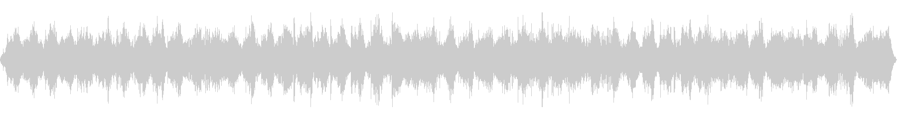 自然音とソルフェジオ周波数を用いたBGMの未再生の波形
